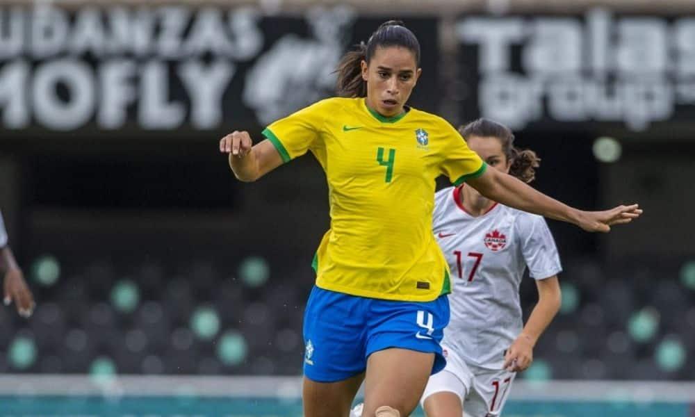 Rafaelle seleção feminina de futebol