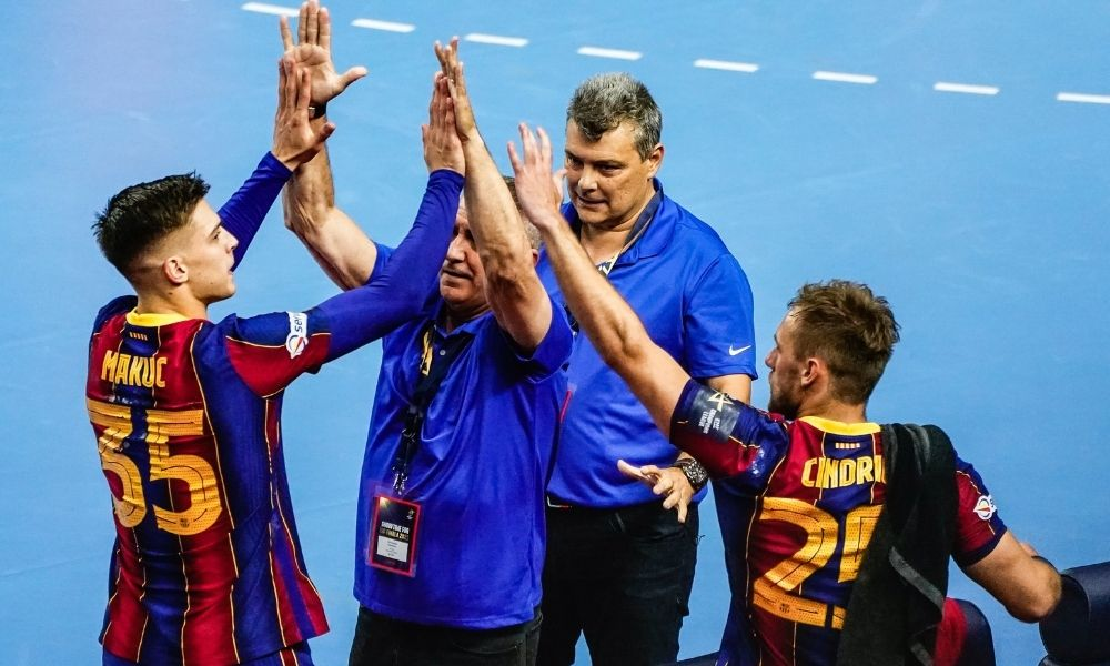 Petrus e Haniel final Champions league