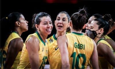 Brasil x Itália - Liga das Nações feminina