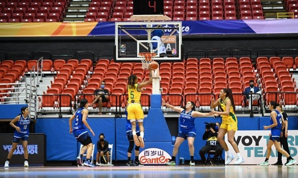 Brasil x El Salvador - Americup de basquete feminino