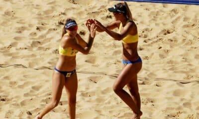 Thâmela/Vitória se garantem na semifinal das eliminatórias dos Jogos Pan-Americanos sub-23
