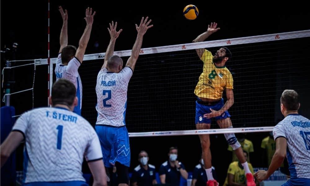 Brasil x Eslovênia - Liga das Nações