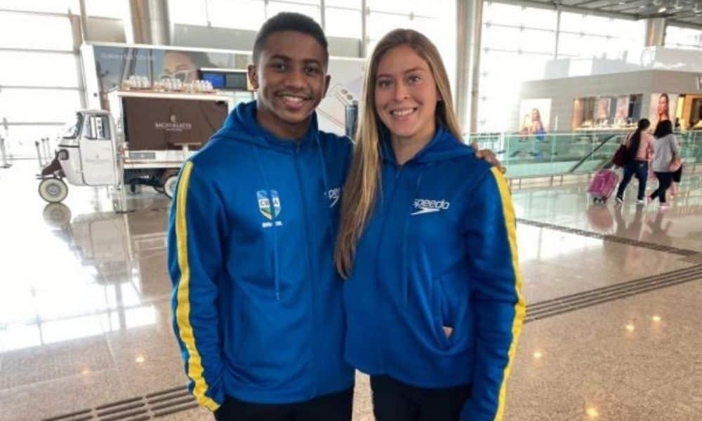 Isaac Souza e Luana Lira estão na Olimpíada