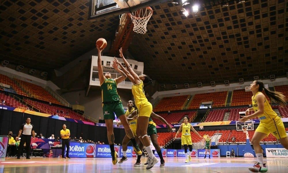 Brasil x Canadá - Americup de basquete feminino