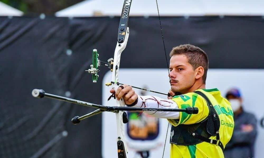 Marcus D'Almeida - Bernardo Oliveira - Copa do Mundo de tiro com arco