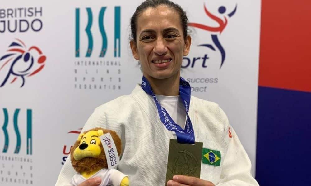 Lúcia Araújo Judô Paralímpico Ouro GP Inglaterra