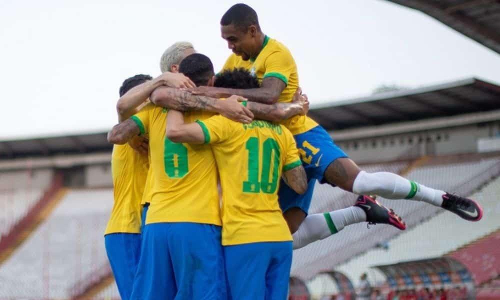 Brasil x Sérvia - Amistoso seleção olímpica