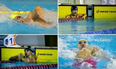 Quatro atletas fazem o índice para a Paralimpíada de Tóquio na natação