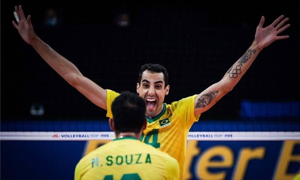 Brasil x Irã - Liga das nações