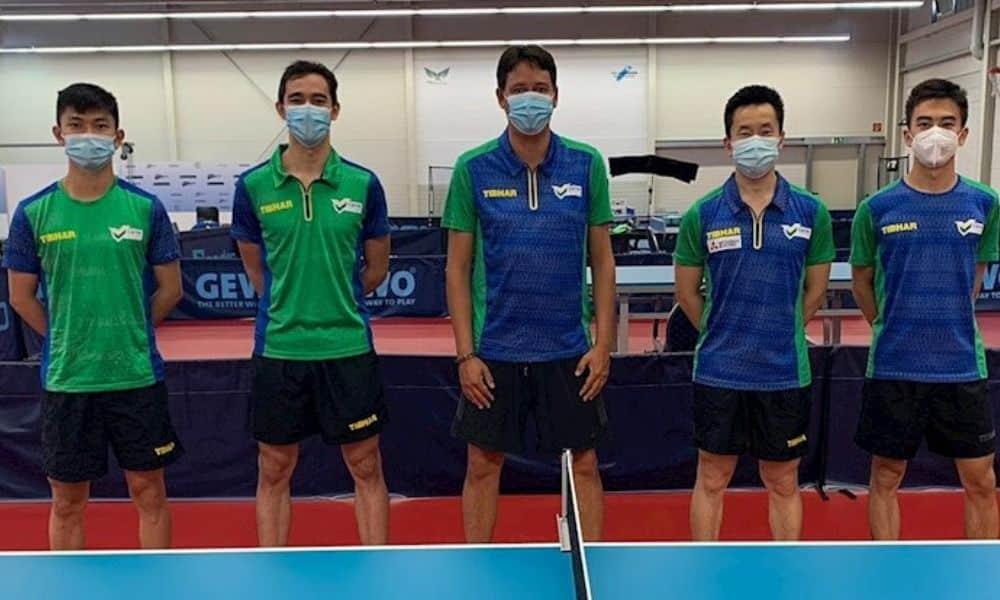 Seleção masculina de tênis de mesa