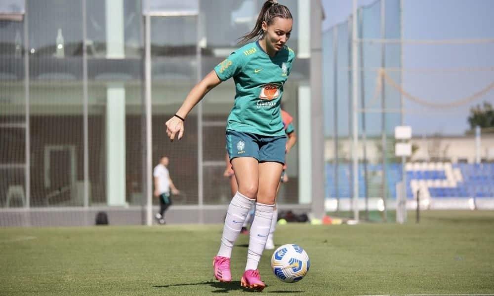 Crivelari estreia seleção brasileira