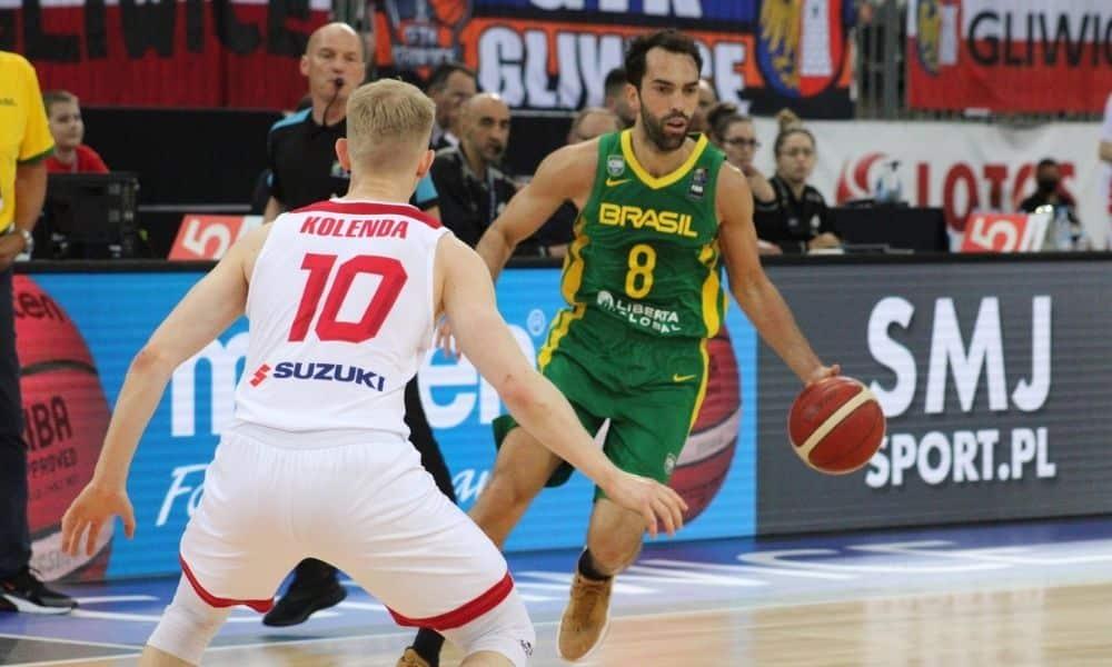 Brasil x Polônia - Amistoso de basquete masculino