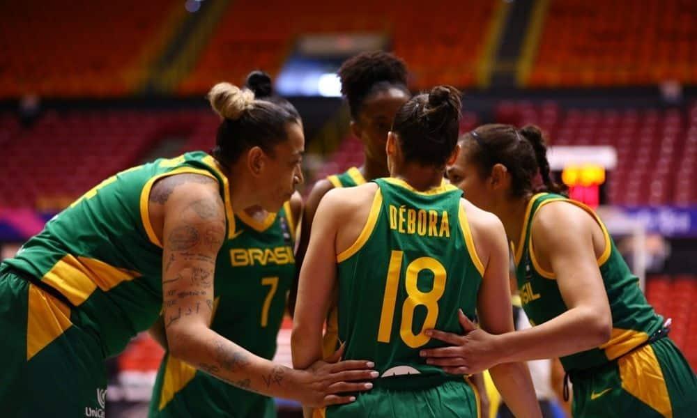 Brasil x Colômbia - Americup feminina de basquete