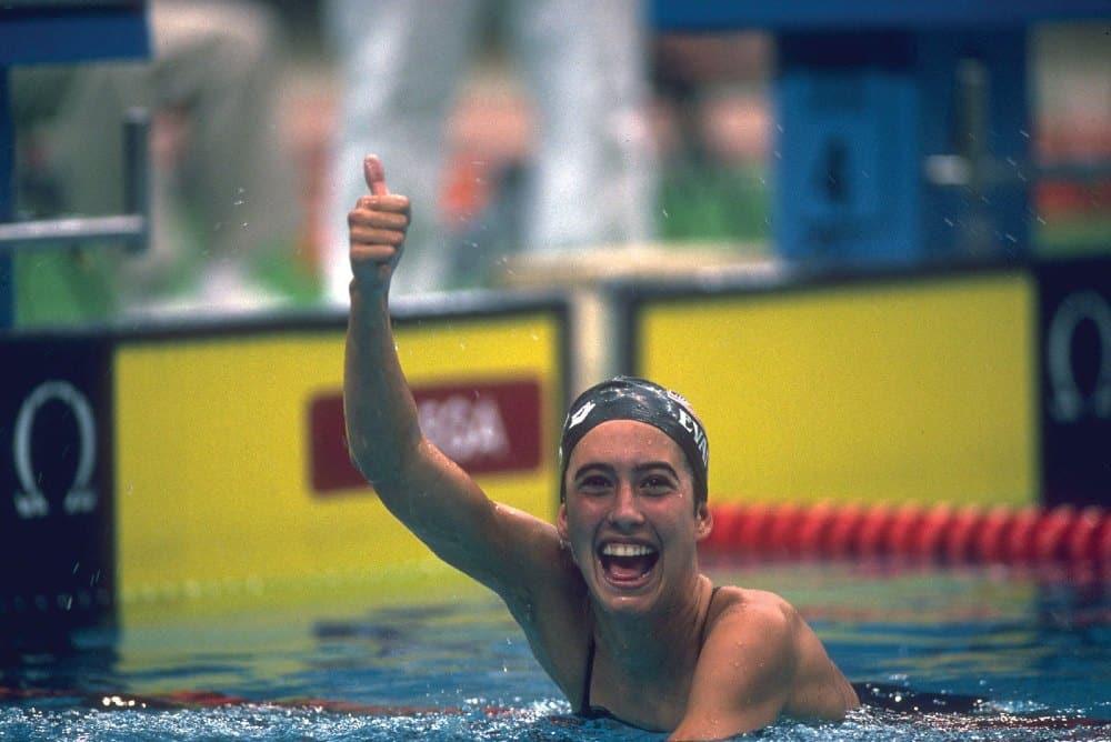 Janet Evans natação