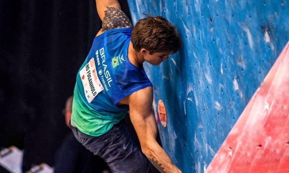 Felipe Ho - Mundial de Escalada Esportiva