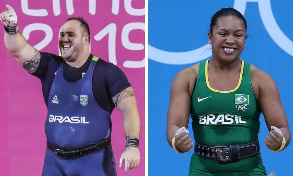Fernando Reis e Jaqueline Ferreira vão a Tóquio no levantamento de peso
