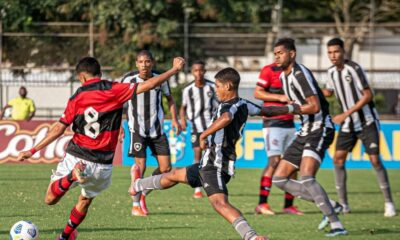 Flamengo x Botafogo Brasileiro Sub-17