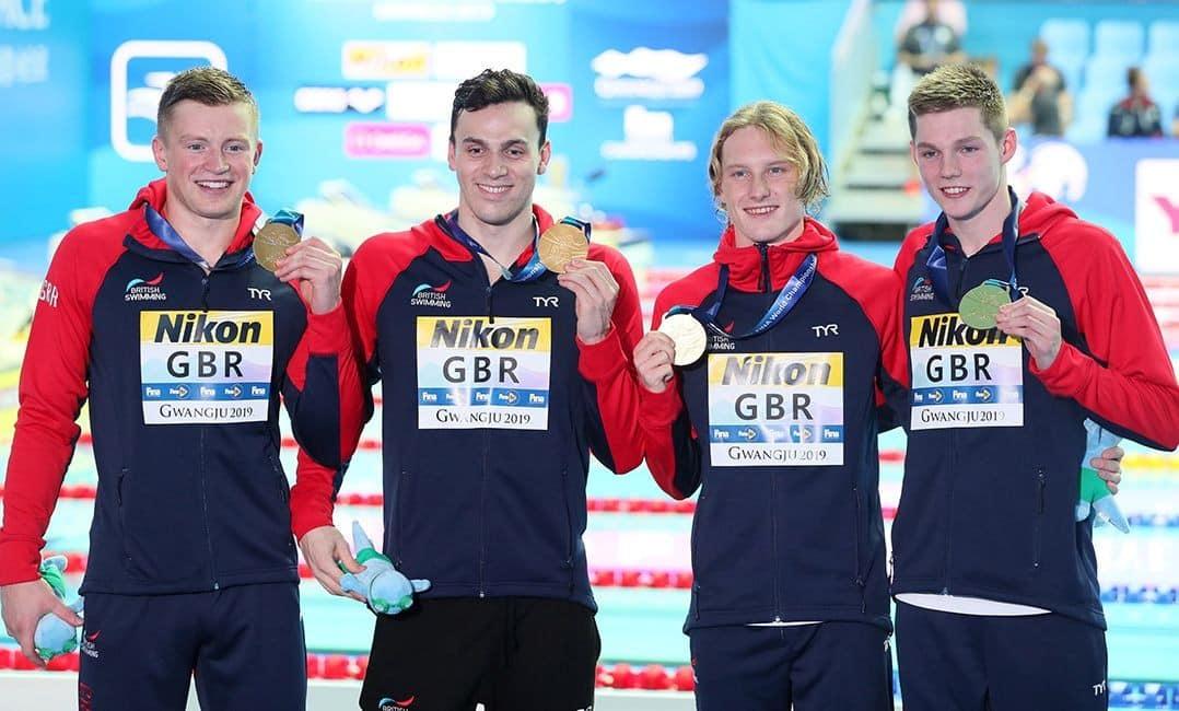 4 x 100m medley masculino - Natação - Jogos Olímpicos Tóquio 2020