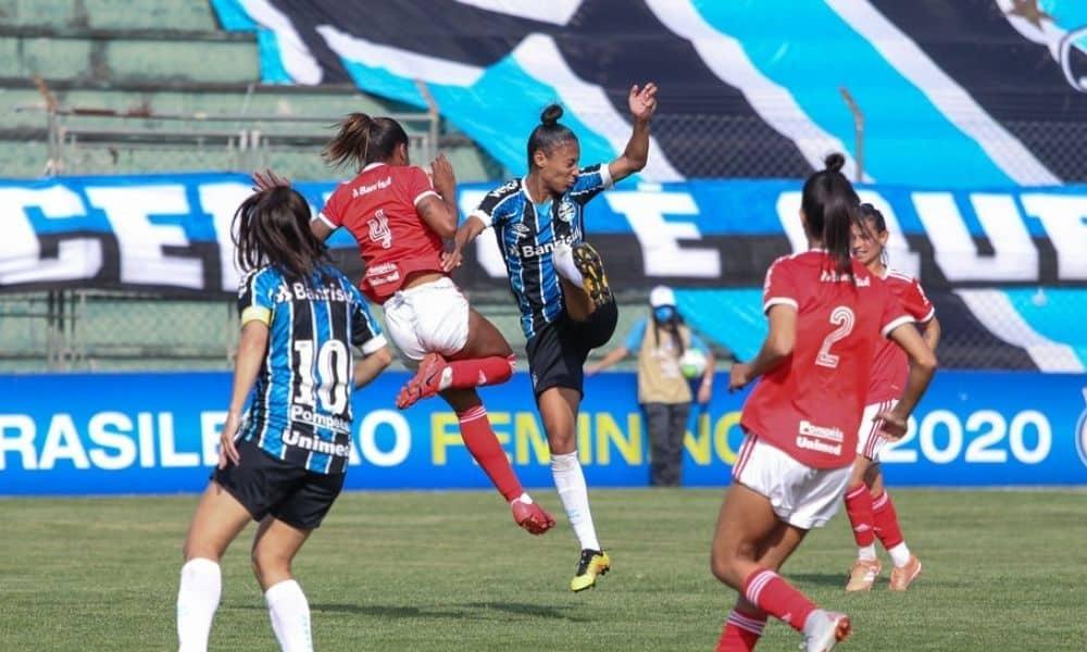 Grêmio x Internacional - Brasileirro Feminino 14ª rodada tabela do campeonato gaúcho de futebol feminino