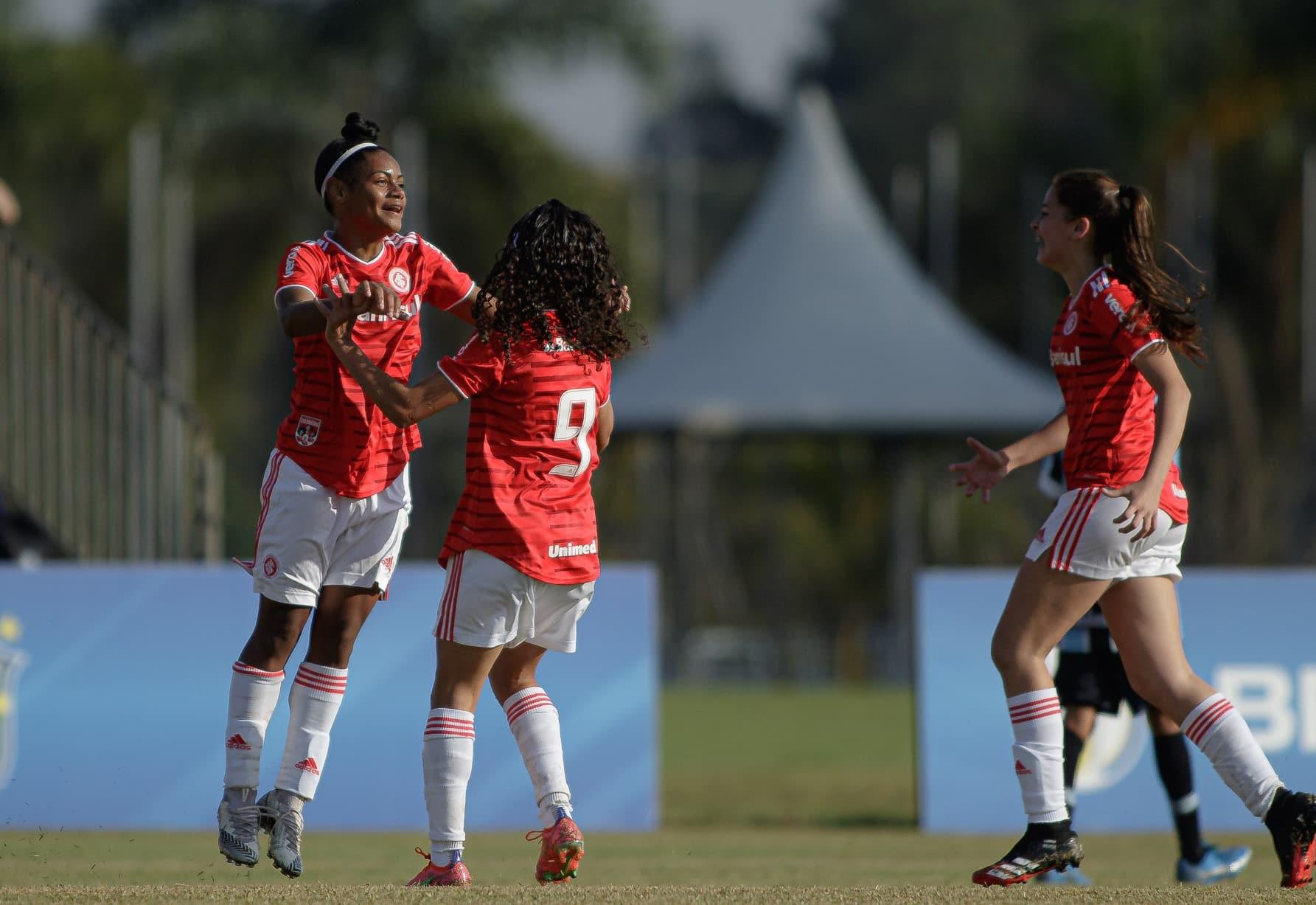 Internacional x Grêmio - Brasileiro sub-16 feminino