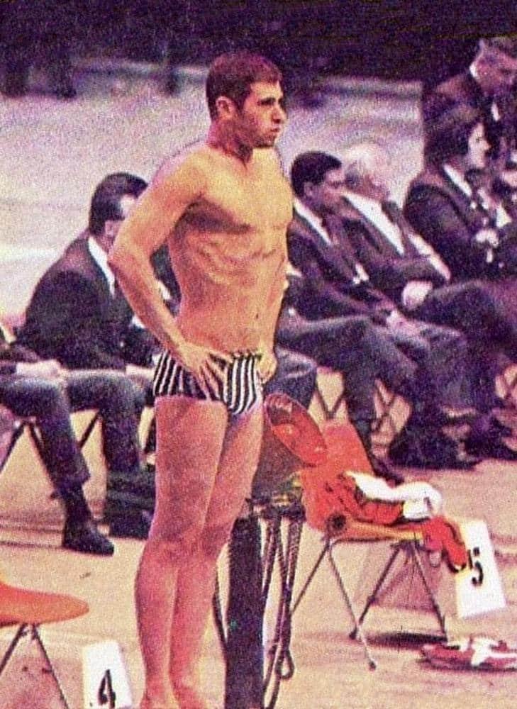 José Silvio Fiolo Natação