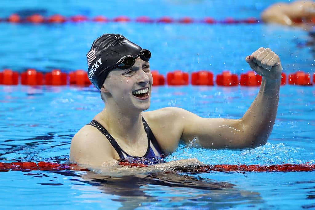 Katie Ledecky natação