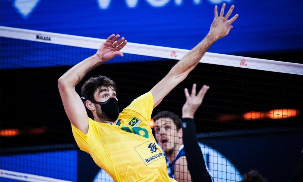 Brasil e Itália - Liga das Nações masculina