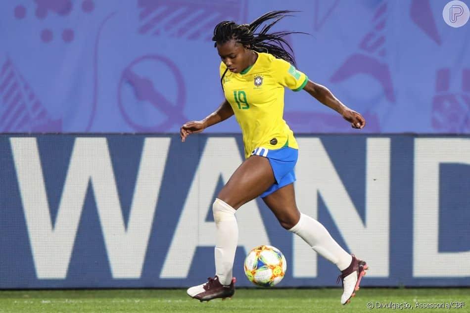 Ludmila - seleção brasileira de futebol feminino - Jogos Olímpicos de Tóquio 2020