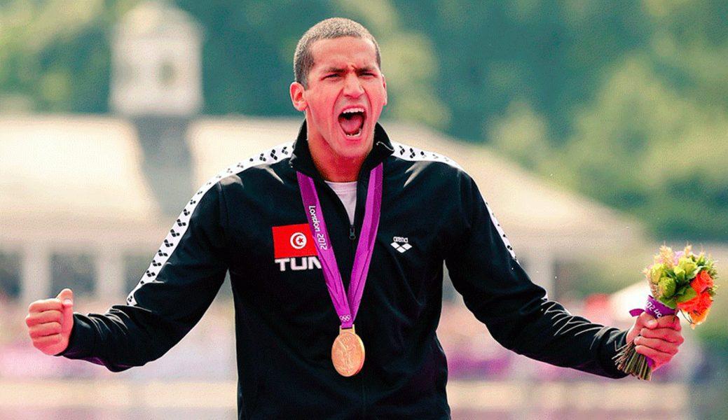 Oussama Mellouli Maratona aquática Tunisia