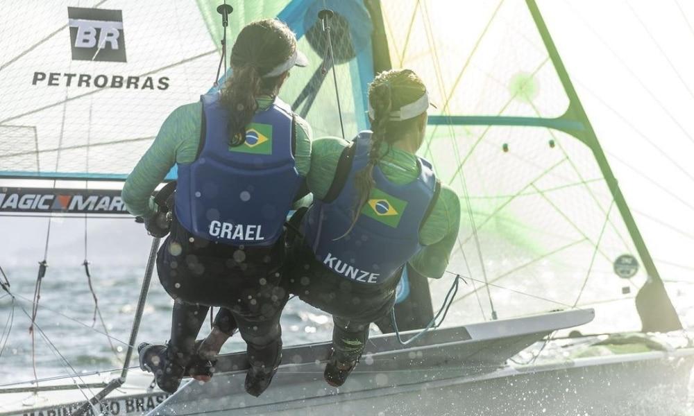 Martine Grael e Kahena Kunze - Semana Internacional de vela de Cascais