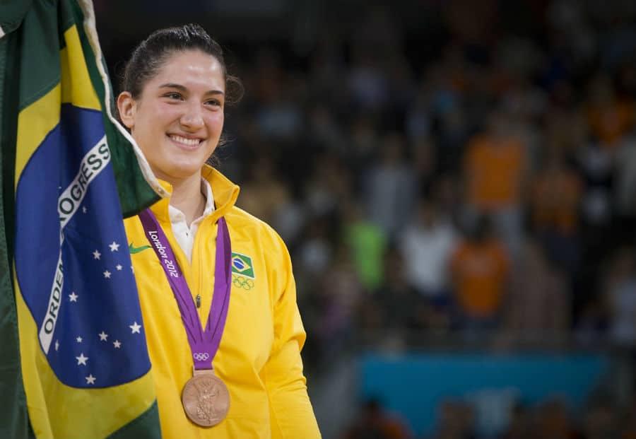 Mayra Aguiar - judô - meio-pesado - até 78kg - Jogos Olímpicos de Tóquio 2020