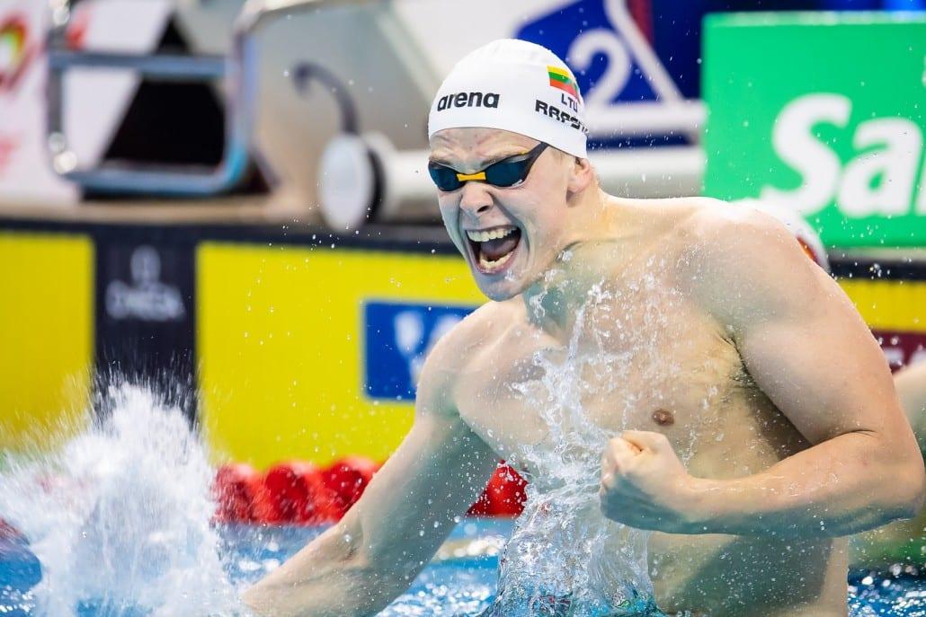 Danas Rapsys natação 200m livre