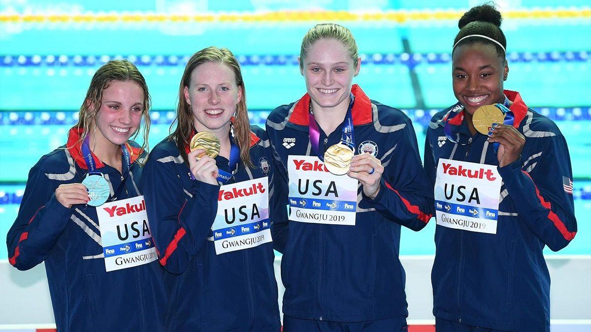 EUA Revezamento 4 x 100m medley