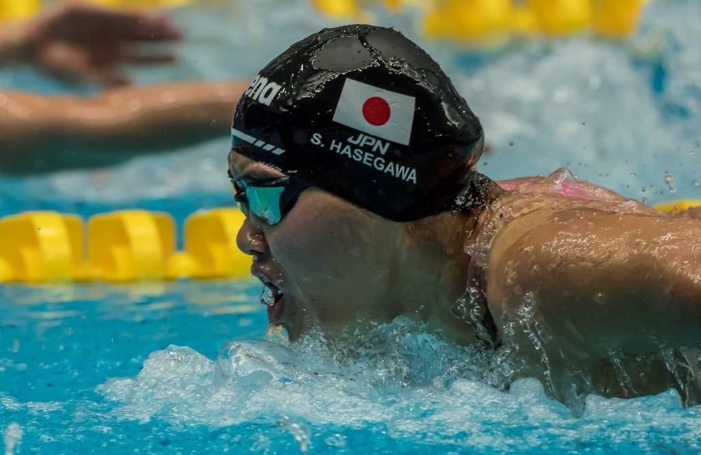 Suzuka Hasegawa natação