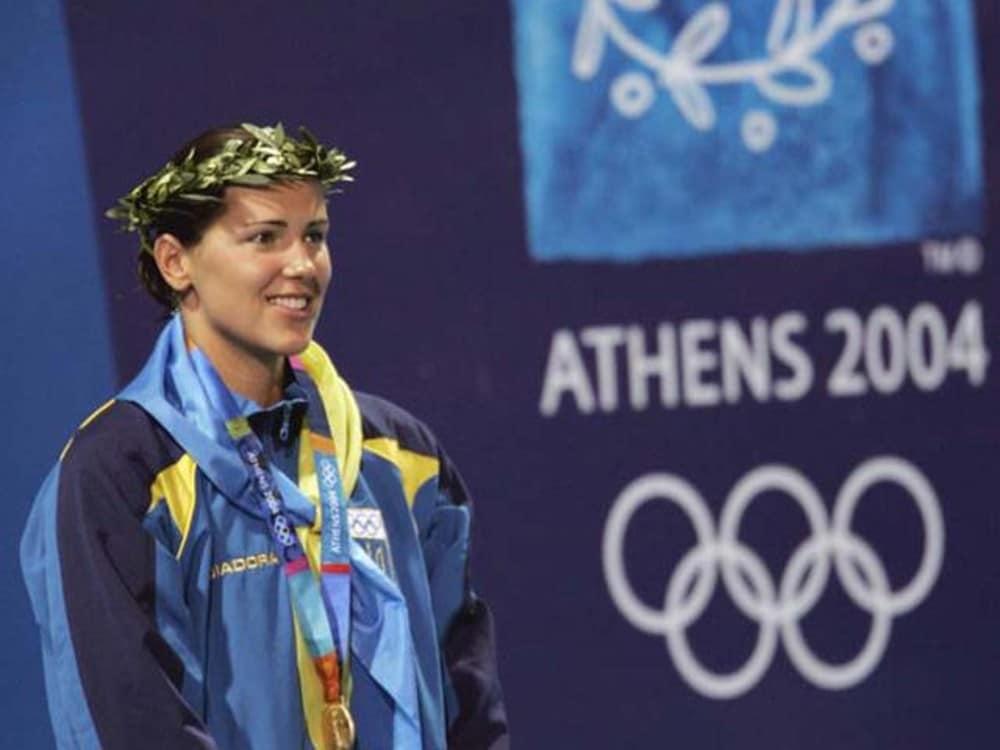 Yana Klochkova Natação