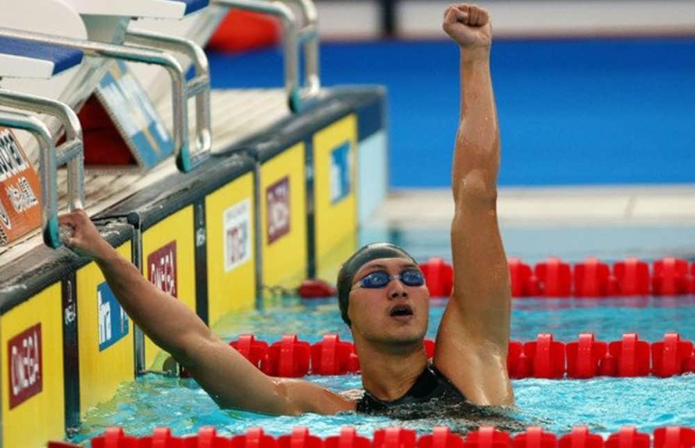 Zhang Lin natação