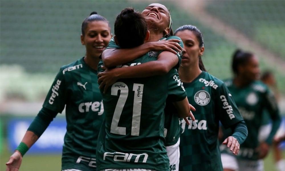 Palmeiras e Napoli-SC - Brasileiro Feminino