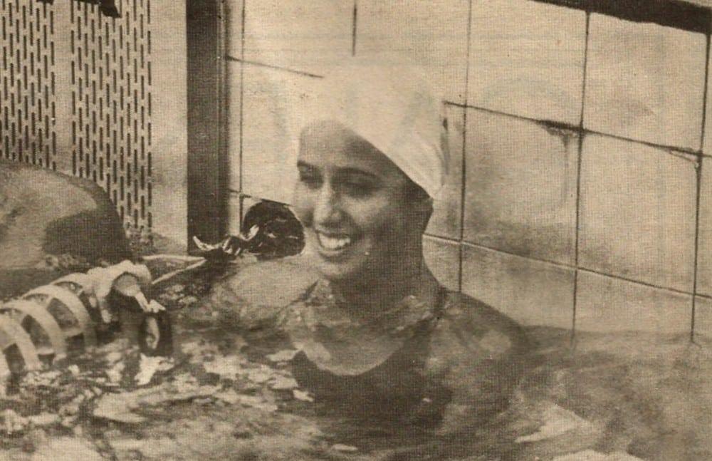 Patricia Amorim natação