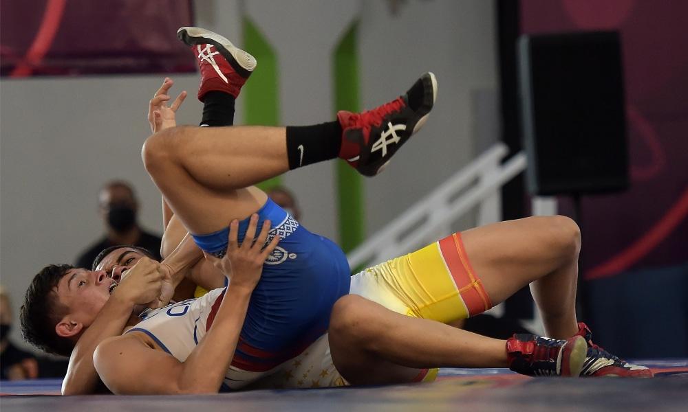 Paulo Silva - Jailson Leite - Pan-Americano Cadete de wrestling