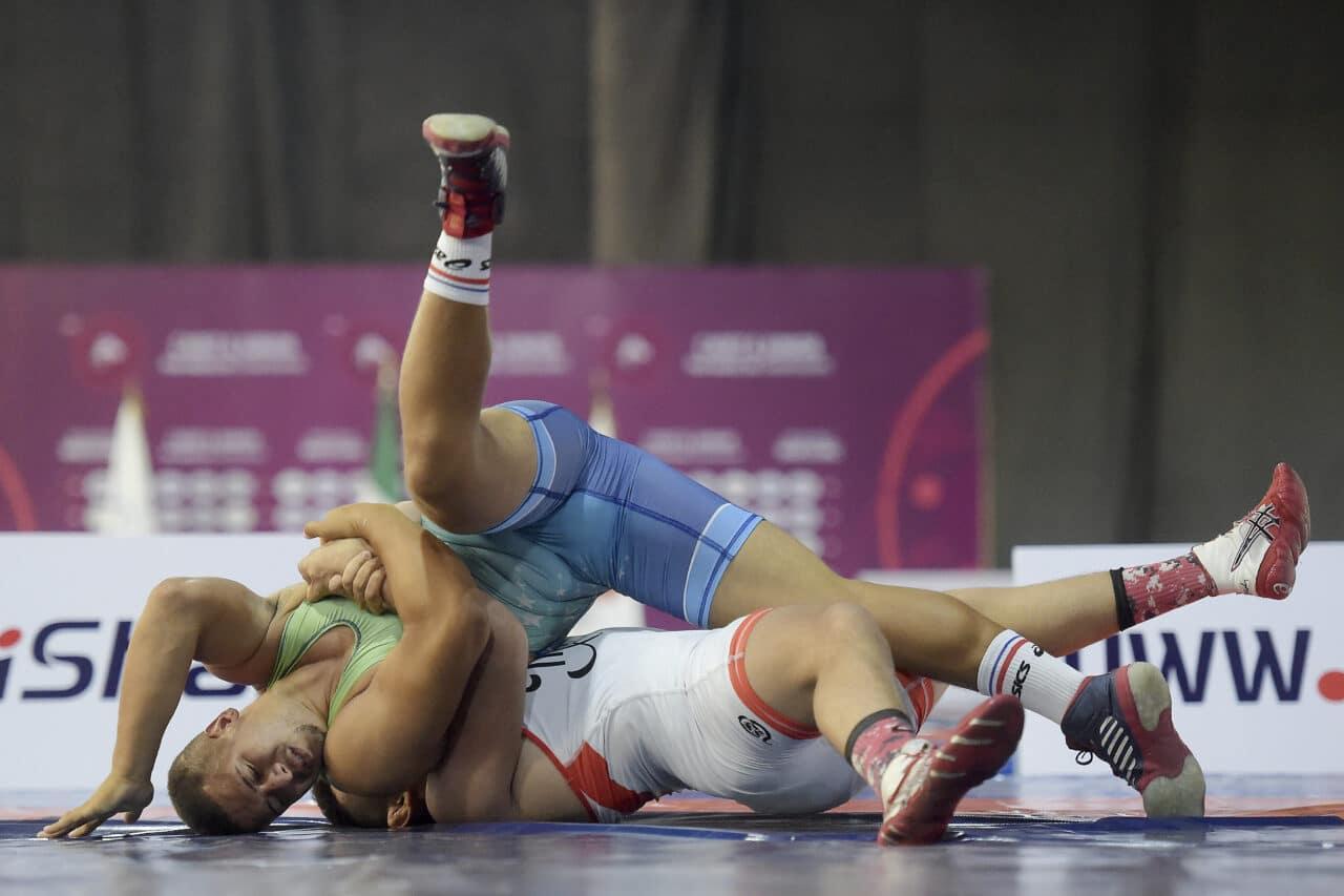 Wanderson Silva - Pan-Americano Junior de wrestling