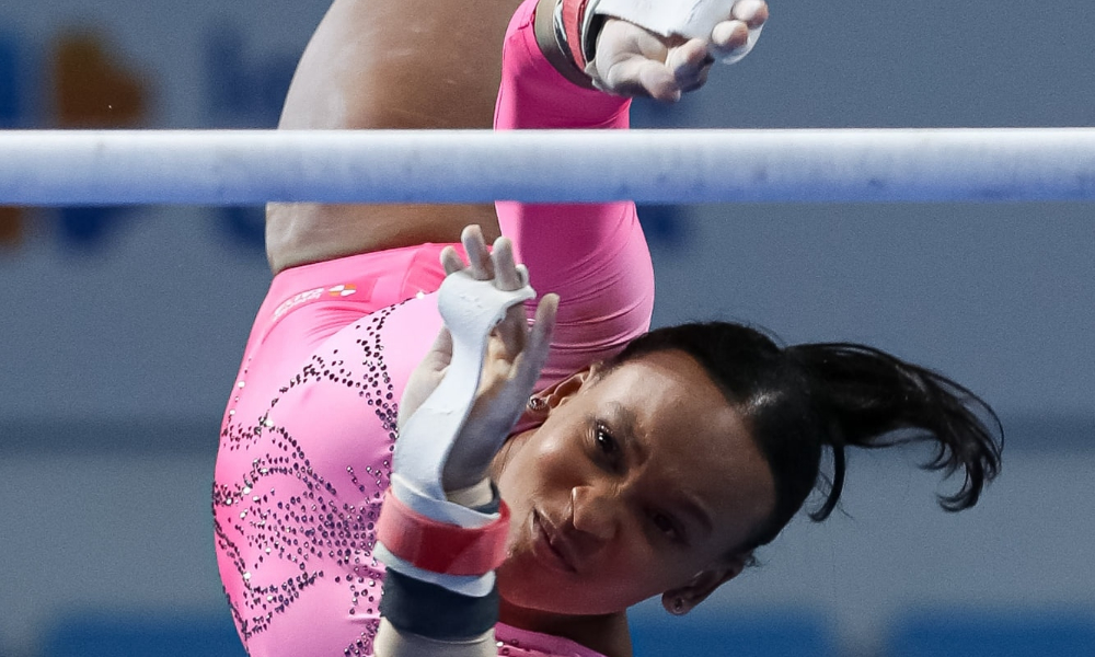 Rebeca Andrade - Arthur Zanetti - Caio Souza - Copa do Mundo de ginástica artística