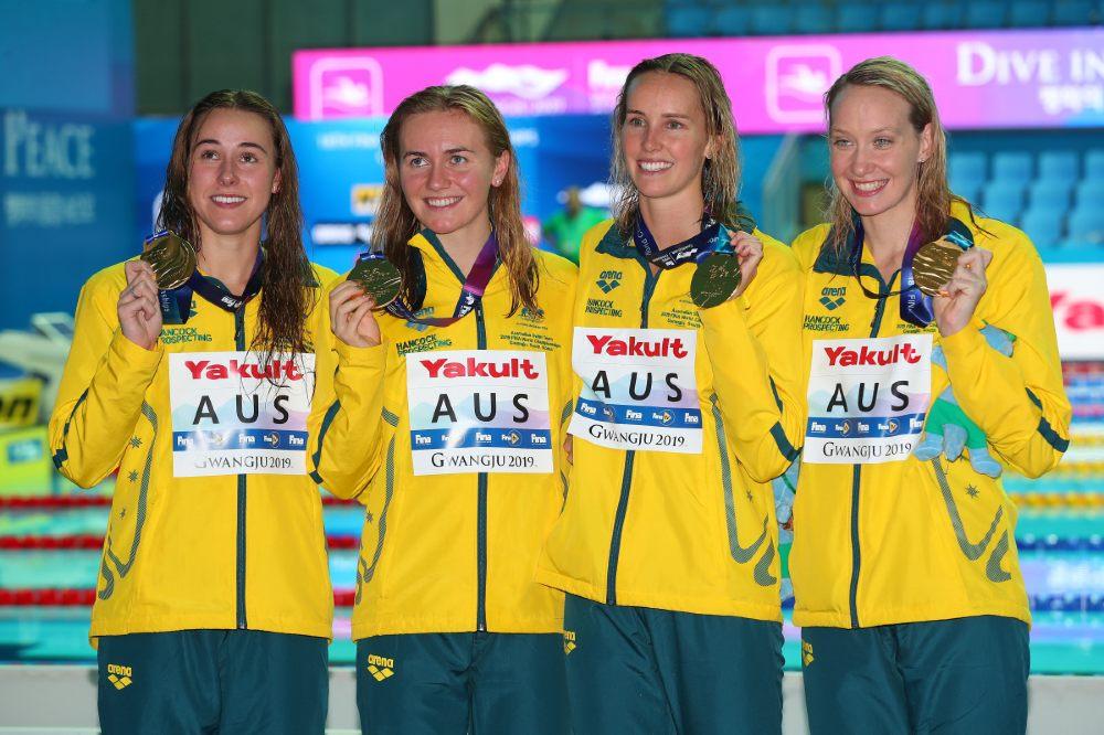 Revezamento Austrália 4 x 200m livre natação - 4 x 200m livre feminino - Natação - Jogos Olímpicos Tóquio 2020