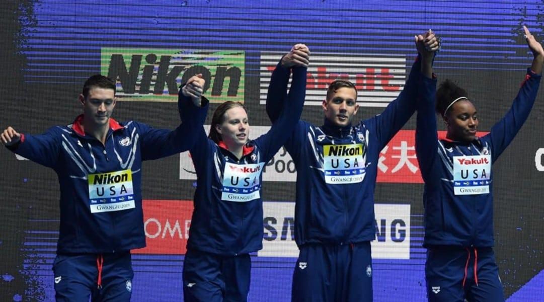 Revezamento 4 x 100m medley EUA