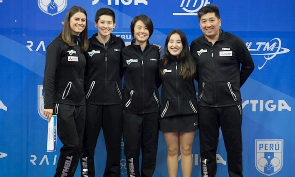 Seleção feminina de tênis de mesa - Tóquio 2020