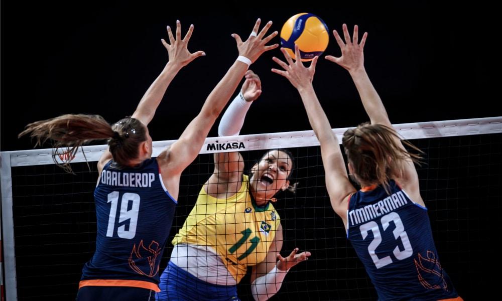 Brasil e Holanda - Liga das Nações feminina