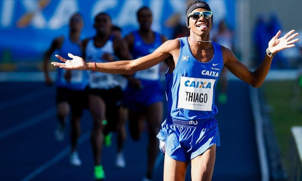 Thiago do Rosário André - atletismo - 800m masculino - Jogos Olímpicos de Tóquio 2020