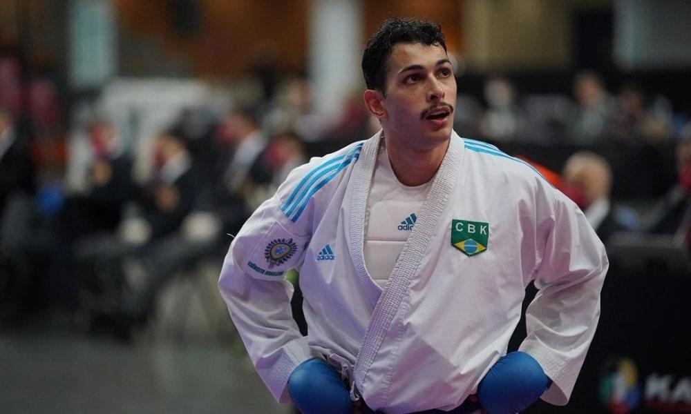 Vinicius Figueira - Pré-Olímpico de caratê