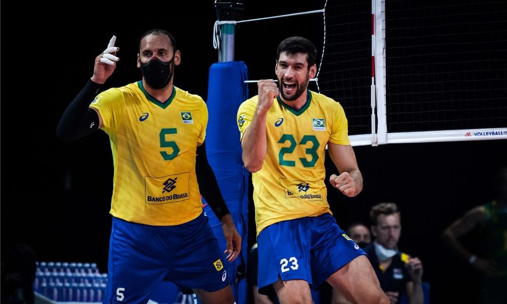 Brasil e Austrália - Liga das Nações masculina