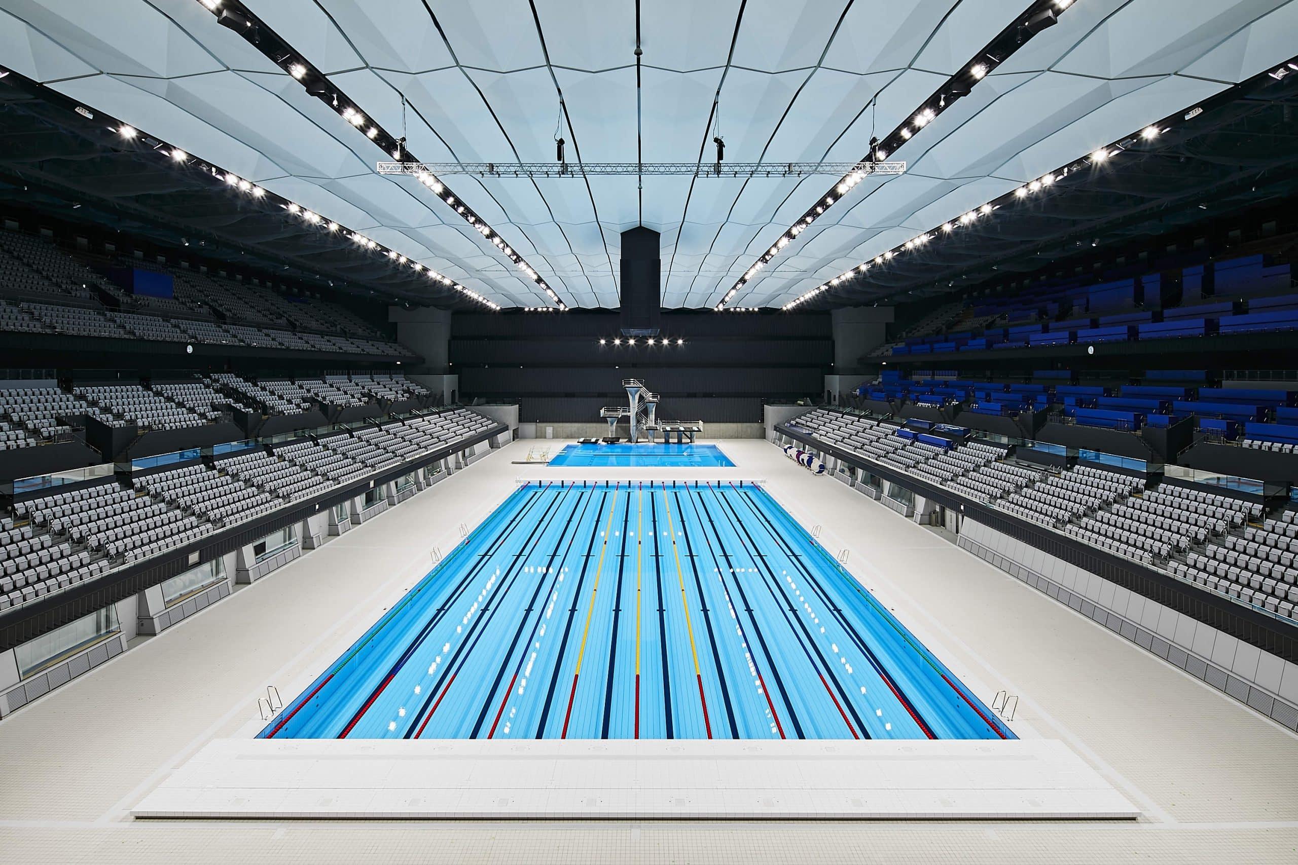Tokyo Aquatics Centre jogos olímpicos tóquio saltos ornamentais