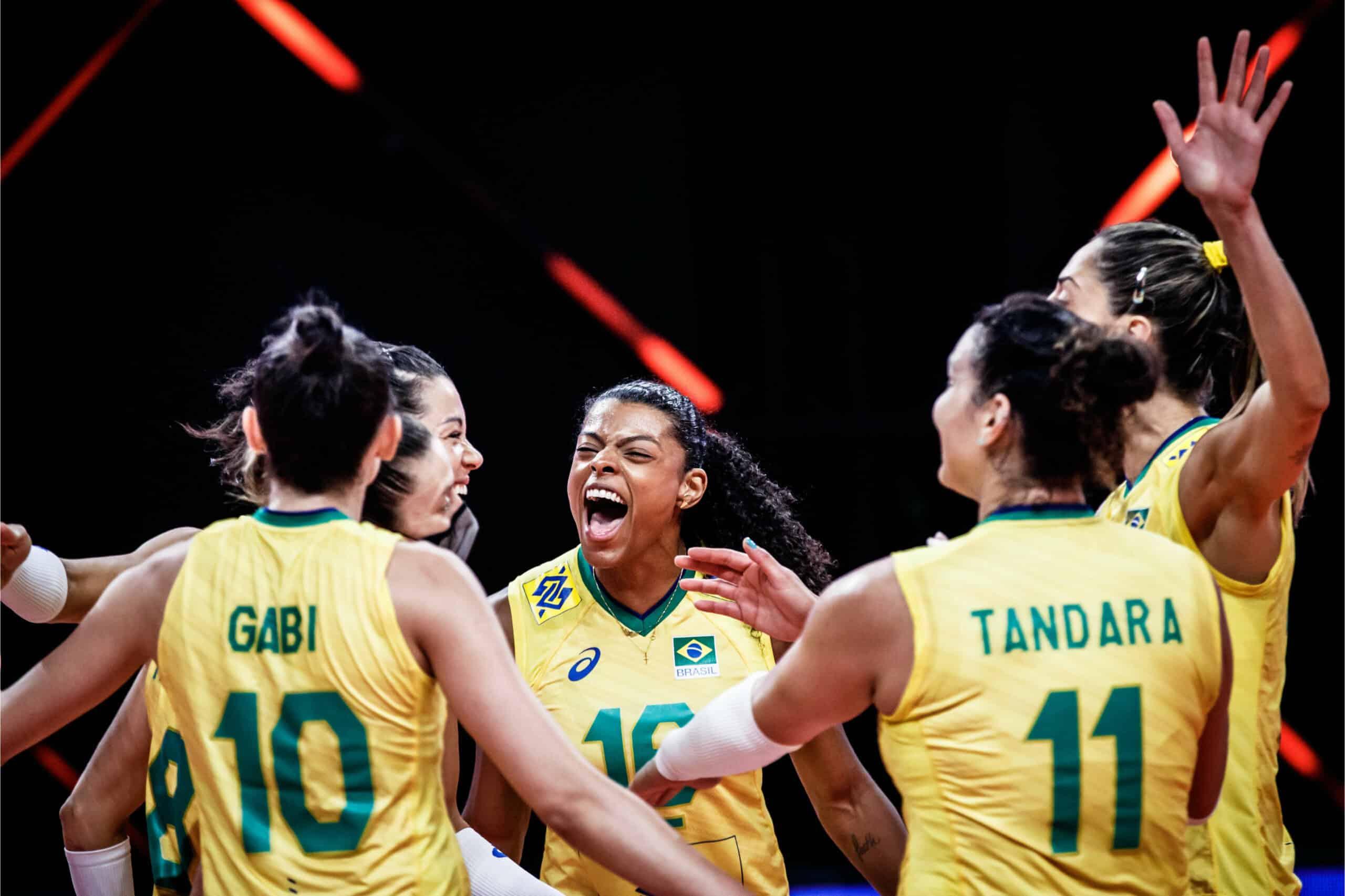 Brasil e Sérvia - Liga das Nações feminina